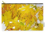 Autumn Snow Portrait Carry-all Pouch by James BO  Insogna