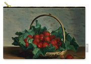 Basket Of Strawberries Carry-all Pouch