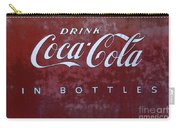 Coca Cola Memorbelia Carry-all Pouch
