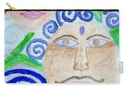 Faces Carry-all Pouch by Sonali Gangane