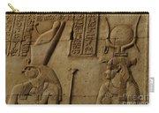 Karnak Egypt Hieroglyphics Carry-all Pouch