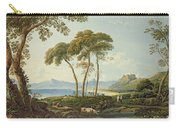 Landscape With Harlech Castle Carry-all Pouch