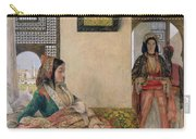 Life In The Harem - Cairo Carry-all Pouch by John Frederick Lewis