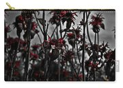 Mono Flowers Carry-all Pouch