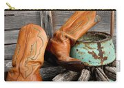 Old Cowboy Boots Carry-all Pouch