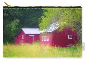 Peaceful Country Barn And Meadow Carry-all Pouch