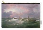 Portrait Of The Lsis A Steam And Sail Ship Carry-all Pouch