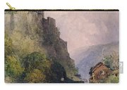The Castle Of Katz On The Rhine Carry-all Pouch