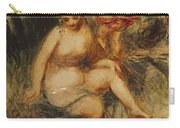 Venus And Love Allegory Carry-all Pouch