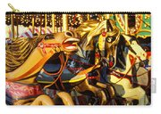 Wild Carrousel Horses  Carry-all Pouch