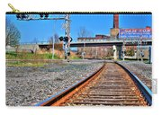 0001 Train Tracks Carry-all Pouch