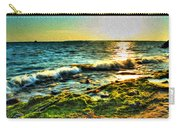 00015 Windy Waves Sunset Rays Carry-all Pouch