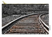 0003 Train Tracks Carry-all Pouch