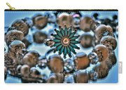 0004 Turquoise And Pearls Carry-all Pouch