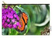 001 Making Things New Via The Butterfly Series Carry-all Pouch