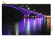 001 Peace Bridge Honoring Breast Cancer 2012 Series Carry-all Pouch