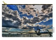 001 Peace Bridge Series II Beautiful Skies Carry-all Pouch