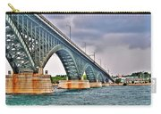 001 Stormy Skies Peace Bridge Series Carry-all Pouch