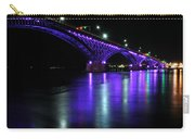 002 Peace Bridge Honoring Breast Cancer 2012 Series Carry-all Pouch
