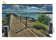 002 Peace Bridge Series II Beautiful Skies Carry-all Pouch