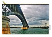 003 Stormy Skies Peace Bridge Series Carry-all Pouch