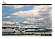 005 Stormy Skies Peace Bridge Series 55mph Carry-all Pouch