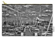 005bw On A Summers Day  Erie Basin Marina Summer Series Carry-all Pouch