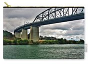 006 Stormy Skies Peace Bridge Series Carry-all Pouch