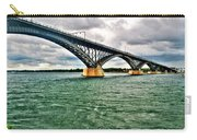 007 Stormy Skies Peace Bridge Series Carry-all Pouch