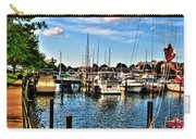 008 On A Summers Day  Erie Basin Marina Summer Series Carry-all Pouch