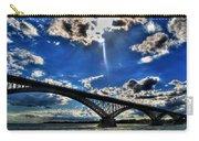 008 Peace Bridge Series II Beautiful Skies Carry-all Pouch