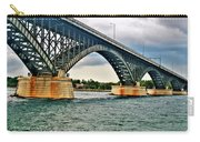 008 Stormy Skies Peace Bridge Series Carry-all Pouch