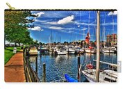 009 On A Summers Day  Erie Basin Marina Summer Series Carry-all Pouch