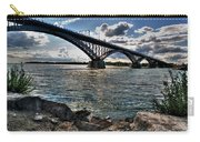 009  Peace Bridge Series II Beautiful Skies Carry-all Pouch