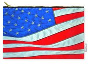 01 American Flag Carry-all Pouch