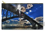 010  Peace Bridge Series II Beautiful Skies Carry-all Pouch