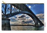 012  Peace Bridge Series II Beautiful Skies Carry-all Pouch