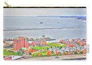 013 Series Of Buffalo Ny Via Birds Eye Erie Basin Marina Carry-all Pouch