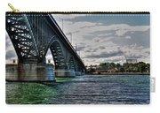 014 Peace Bridge Series II Beautiful Skies Carry-all Pouch