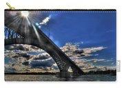 016 Peace Bridge Series II Beautiful Skies Carry-all Pouch