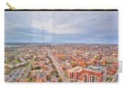 031 Series Of Buffalo Ny Via Birds Eye West Side Carry-all Pouch