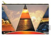 0a Relaxing Sunsets Collage Carry-all Pouch