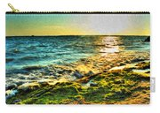 00013 Windy Waves Sunset Rays Carry-all Pouch