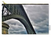 009 Stormy Skies Peace Bridge Series Carry-all Pouch
