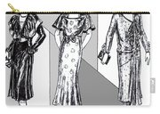 1930s Dresses Carry-all Pouch