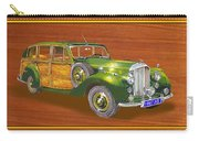 1947 Bentley Shooting Brake Carry-all Pouch by Jack Pumphrey