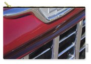 1955 Chevrolet Pickup Truck Grille Emblem Carry-all Pouch by Jill Reger