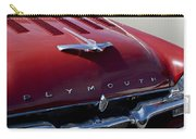 1956 Plymouth Hood Ornament Carry-all Pouch