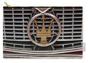 1960 Maserati 3500 Gt Coupe Emblem Carry-all Pouch