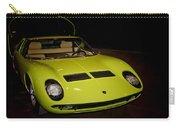 1968 Lamborghini Miura S Carry-all Pouch